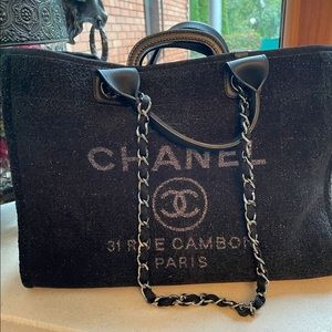 Chanel Deauville large tote